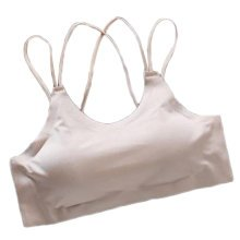 2PCS Women's Camisoles Lingerie Seamless Stretchy Tube Bra Top -A21