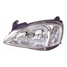 Vauxhall Corsa C Mk2 10/2003-2006 Non Projector Headlight Lamp Passenger Side