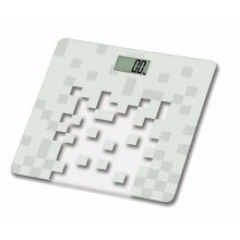 Tanita Glass Digital Bathroom Scale - White
