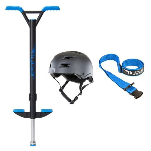 Blue Velocity Pro Pogo with Black Helmet, M/L
