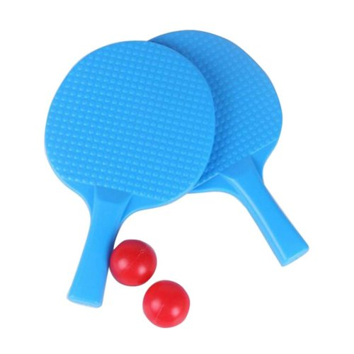 Children Table Tennis Racket Leisure Sports Toy Set-Blue
