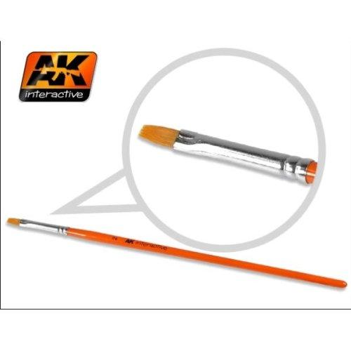 AK00609 - AK Interactive Brushes Synthetic Flat 2