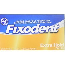Fixodent Denture Adhesive Extra Hold Powder 2.7 oz Pwdr by PROCTER & GAMBLE CONSUMER