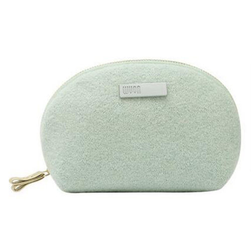 Handy Knitted Fabric Makeup Pouches  Cosmetic Bag Toiletry Bag, H