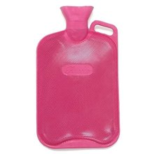Finesse Hot Water Bottle - Double Rib With Handle -  finesse hot water bottle double rib handle