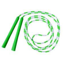 Fitness Training  Lightweight Easily Adjustable Jump Rope,Green&White