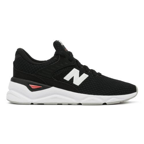 New Balance Mens X90 Black / White Sport Trainers