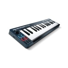 M-Audio Keystation Mini 32 II | Compact 32-Key USB/MIDI Keyboard Controller