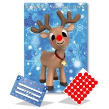 Stick The Nose On Rudolph   Christmas Game