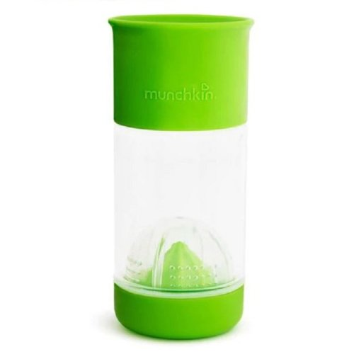 Munchkin Miracle 360° Fruit Infuser Cup 14oz - Green