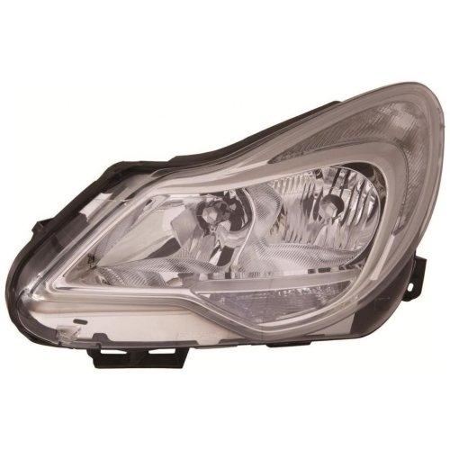 Vauxhall Corsa D 2012-> Headlight Headlamp Passenger Side N/s