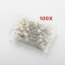 Trixes 100 Dress Maker Ivory Pins