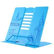 Book Stand Book Holder Adjustable Foldable Book Stand Cute [N]