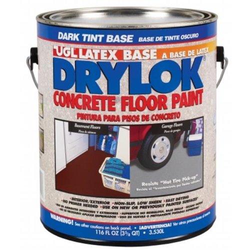 United Gilsonite 116 Oz Dark Gray Base Drylok Latex Base Concrete Floor Paint L - Pack of 2
