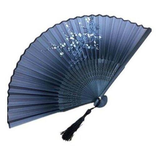 Chinese/Japanese Silk Handheld Fan Folding Fan Aya Silk Handheld Folding Fan