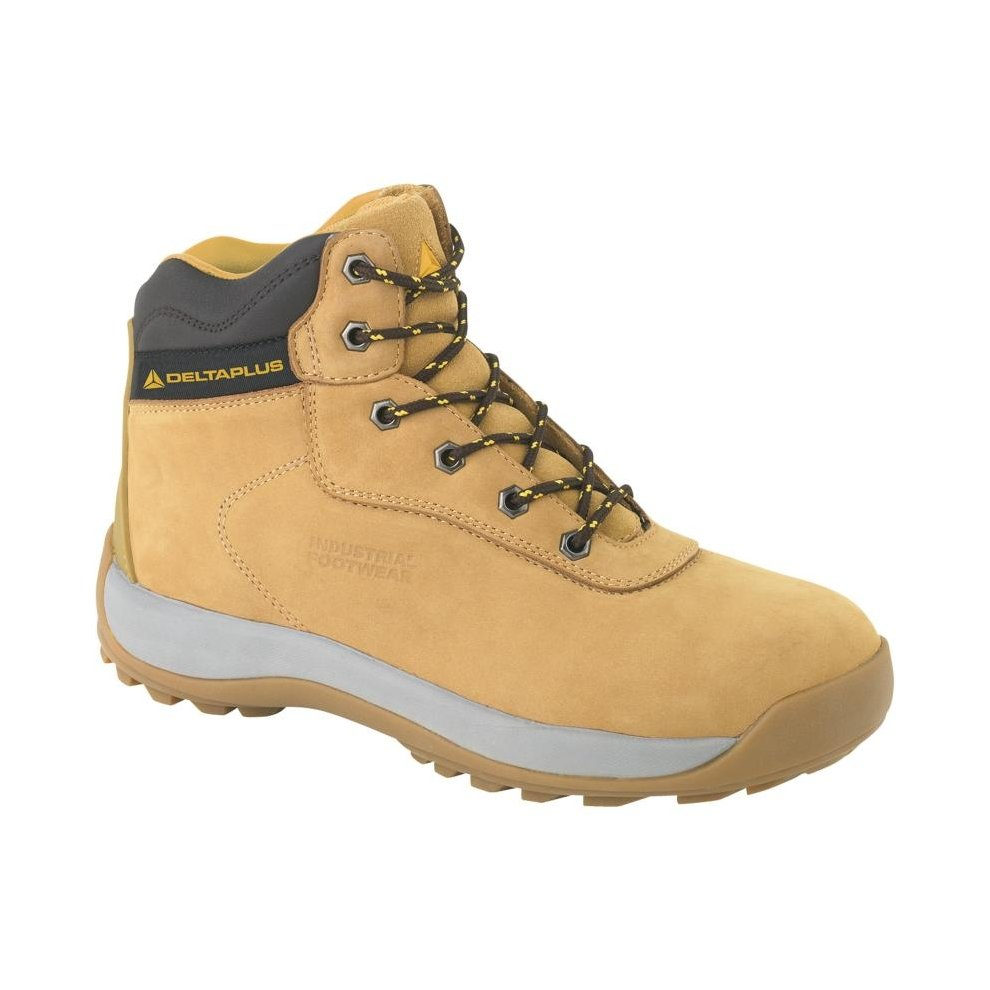 ad90149d944 Delta Plus LH840 Nubuck Leather Hiker Safety Work Boots Tan (Sizes 7-12)