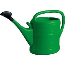 14l Large Green Watering Can -  green watering can 14l wash
