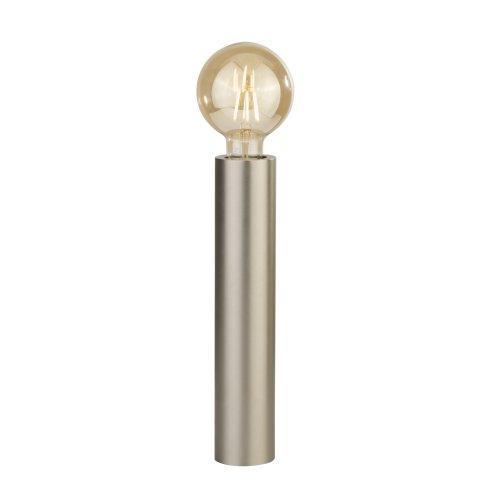 Searchlight Porter 1 Light Table Lamp Steel