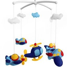 [Plane] Creative Crib Mobile Infant Bed Hanging Bell Crib Toy