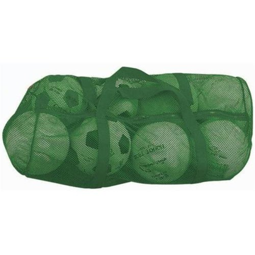 Olympia Sports BC086P 36 in. x 15 in. Zippered Mesh Bag - Green