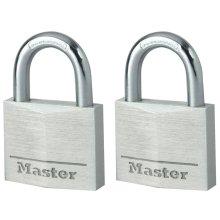 Master Lock Padlock 2 pcs Aluminium 40 mm 9140EURT