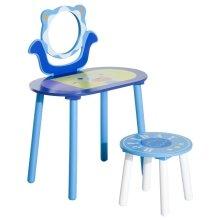 Homcom Kids' Dressing Table & Stool | Children's Vanity Set