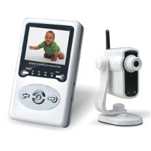 "Tinytots Rc823  Digital Video Baby Monitor 2.4"" 2 Way"