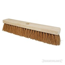 "Silverline Broom Soft Coco 457mm (18"") - 18 763607 -  broom soft silverline coco 18 457mm 763607"