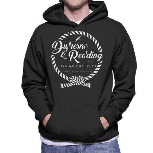 Dufresne And Redding Fishing Shawshank Redemption Men's Hooded Sweatshirt