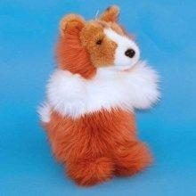 Dowman Border Collie Dog Hand Puppet Soft Toy 28cm