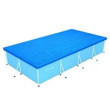 Bestway pool cover dimension 410 X 226 cm, pool dimension 400 x 211cm