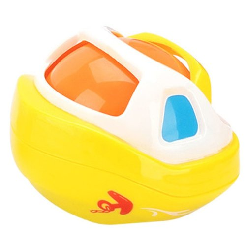 Sliding Yellow Boat Bowls Toys Inertial Toys Children Floating Bath Toys