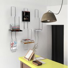 Set of 4 Modular Shelves GRID | Thibault POUGEOISE