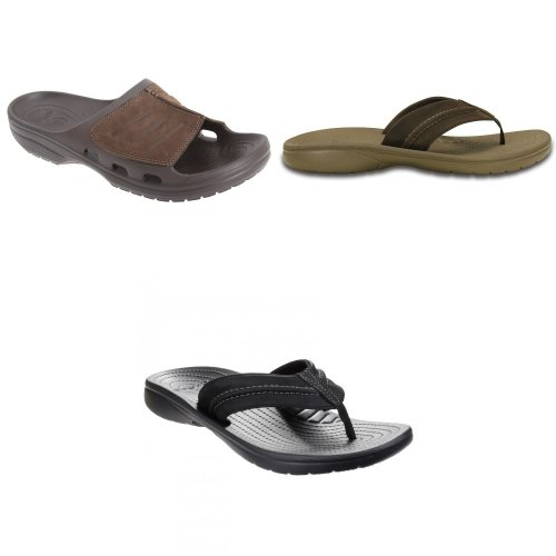 Crocs Mens Yukon Mesa Slip On Sandals