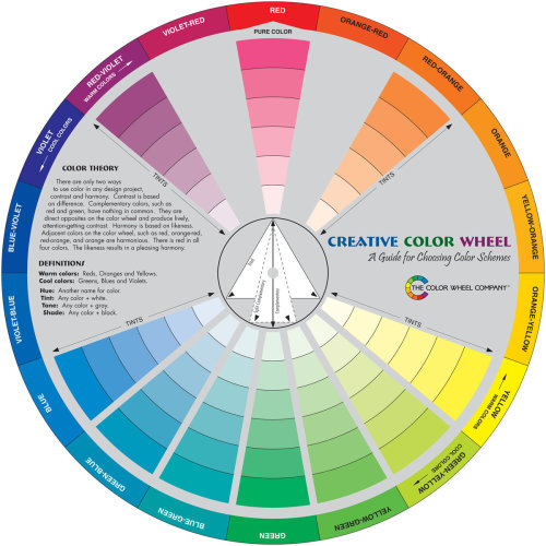"""Creative Color Wheel-9.25"""""""