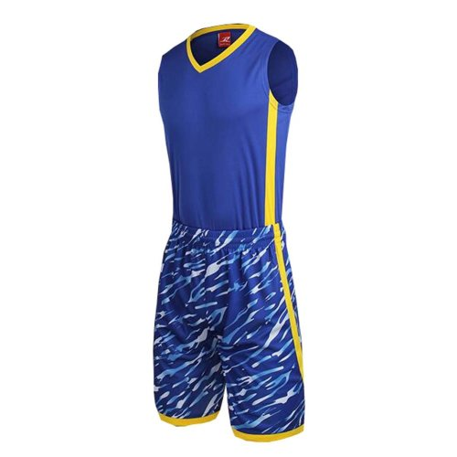 Men's Basketball Sport Clothing Jersey Shirts Set