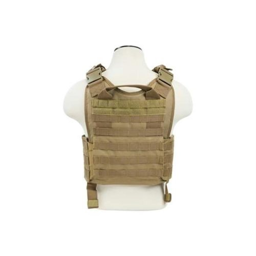 NcStar CVPCV2924T Plate Carrier Vest-Digital Tan