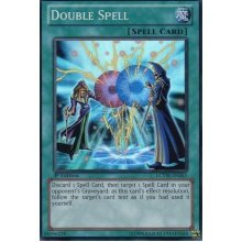 Yu-Gi-Oh! - Double Spell (LCYW-EN065) - Legendary Collection 3: Yugi's World - 1st Edition - Super Rare