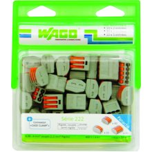 Wago WAG222/PAN50 Wire Connectors Pack of 50 222 2-3-5 input terminals