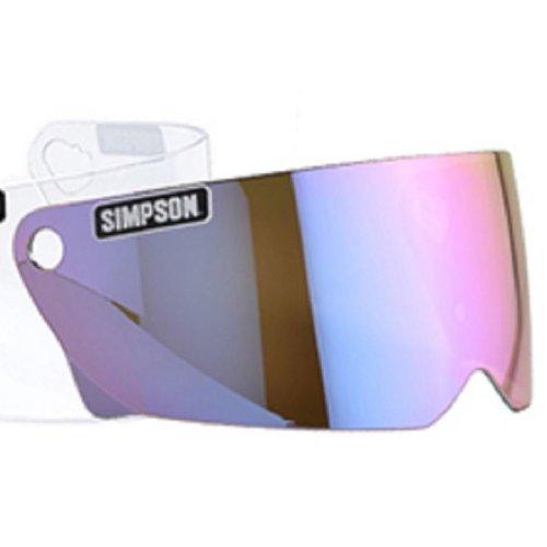 Iridium Visor For Simpson M30 Helmet