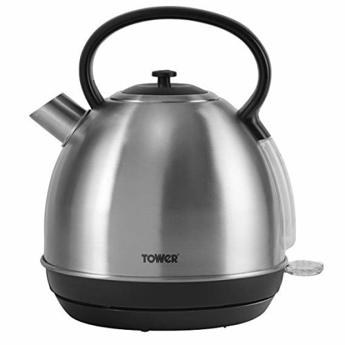 Tower Brushed S/S Trad Kettle