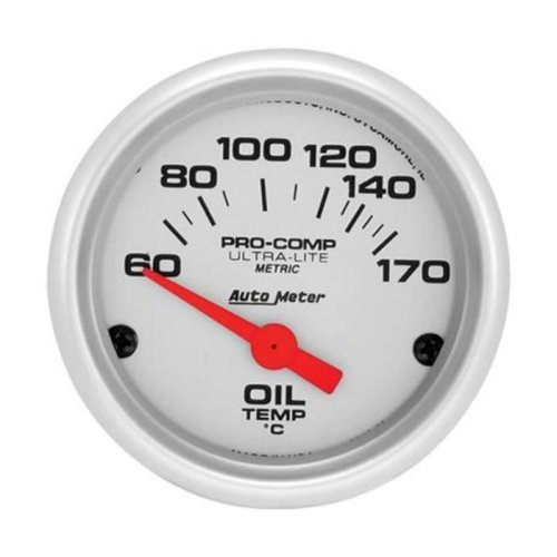 AUTO METER 4348M Metric Ultralite Oil Temperature 60-150 Degrees C
