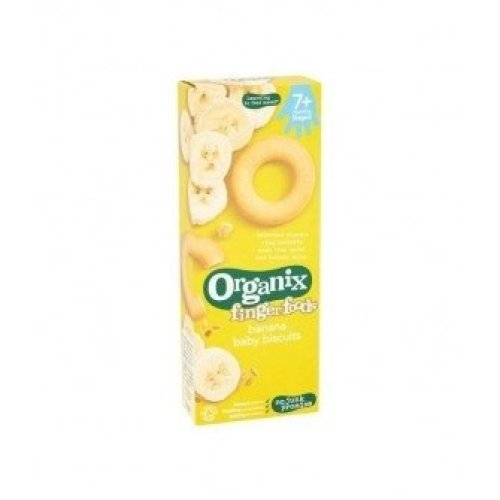Organix - Banana Baby Biscuits