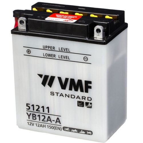 VMF Powersport Battery 12V 12Ah YB12A-A/12N12A-4A-1 134x80x160mm Motorcycles