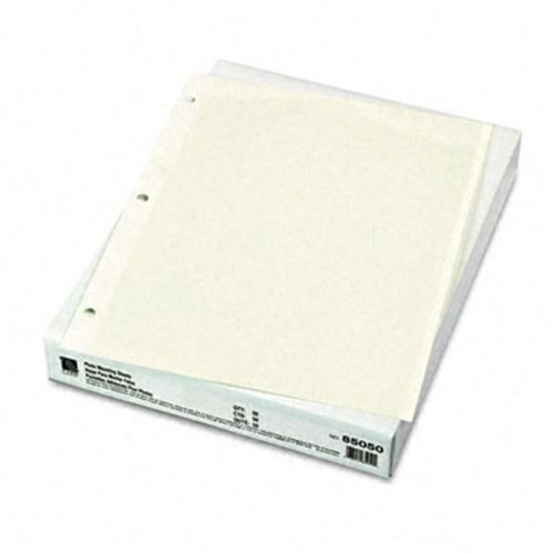 C-Line 85050 Redi-Mount Photo Sheets  3-Hole Punched  11 x 9  50 Sheets per Box