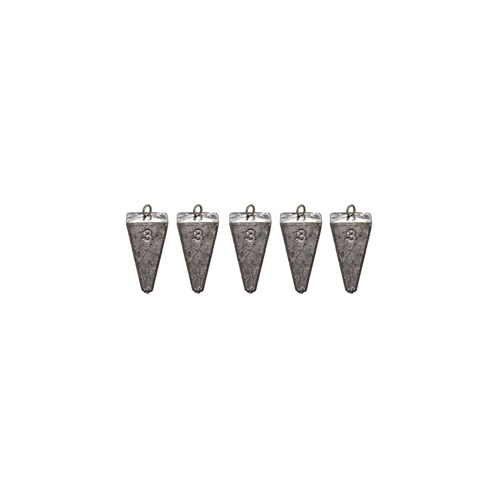 South Bend Pyramid Sinker Pack of 5