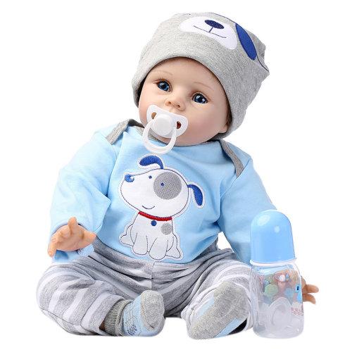 55cm Opening Eyes Reborn Baby Doll Lifelike Baby Doll