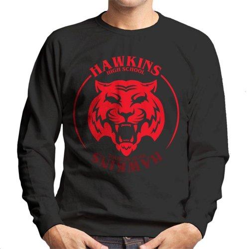 Red Tiger Hawkins High School Stranger Things Men's Sweatshirt