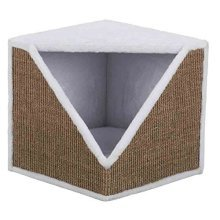 Trixie Cat Scratching Cube Ofelia - Cats Kratzwrfel Whitebrown New -  trixie cats kratzwrfel ofelia whitebrown new