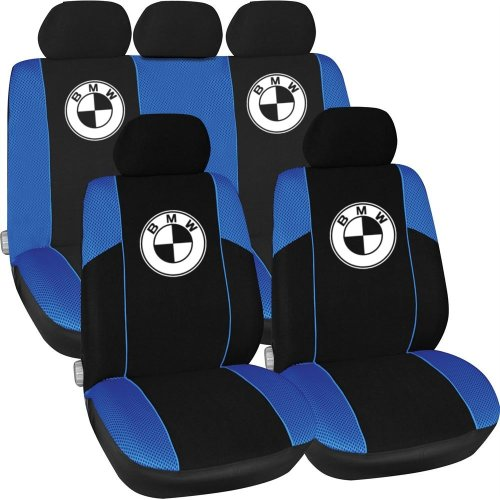 BMW Logo 3  Inspired Car Seat Covers, Full Set